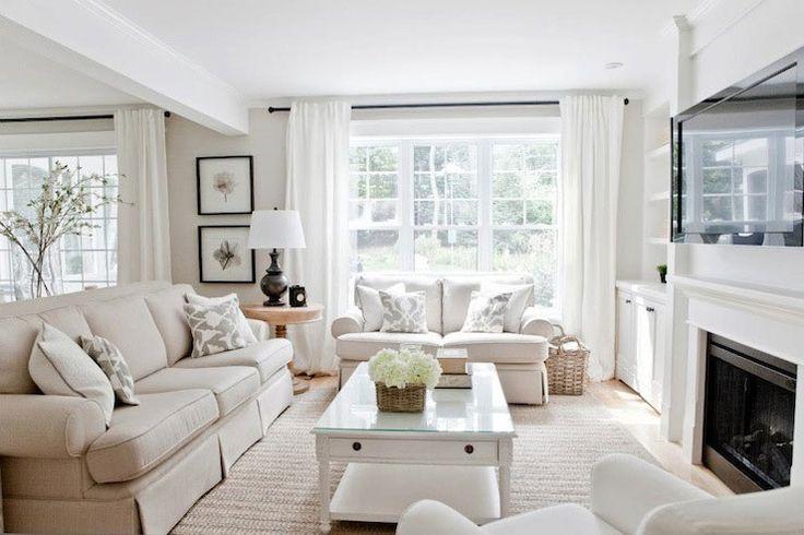 36 Light Cream and Beige Living Room Design Ideas