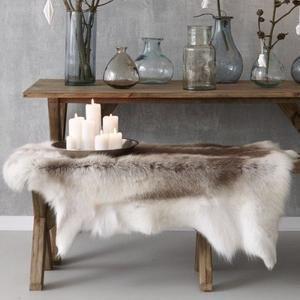 Luxurious Reindeer Fur Rug