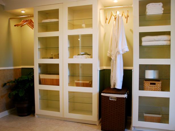 Bathroom cabinets storage units