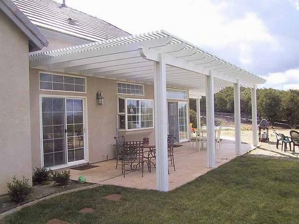 Terrace roofing ideas