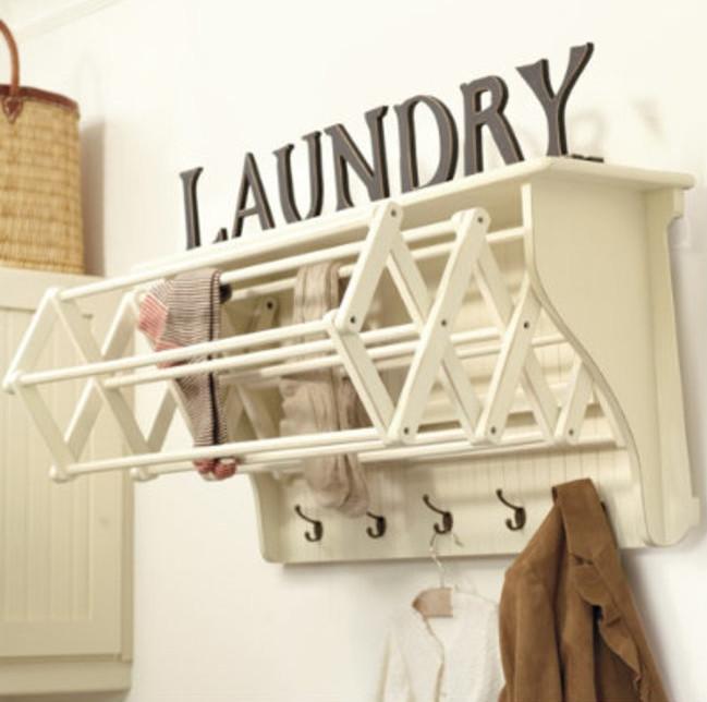 Accordion clothes dryer