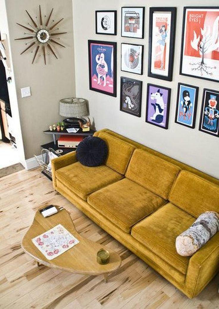 38 Inspiring Yellow Sofas Perfect Living Room