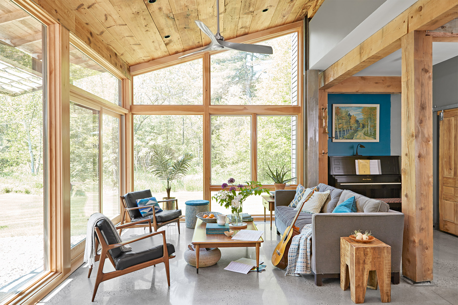Arranging sunroom additions: bring outside inside