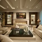 Contemporary living room themes for every case