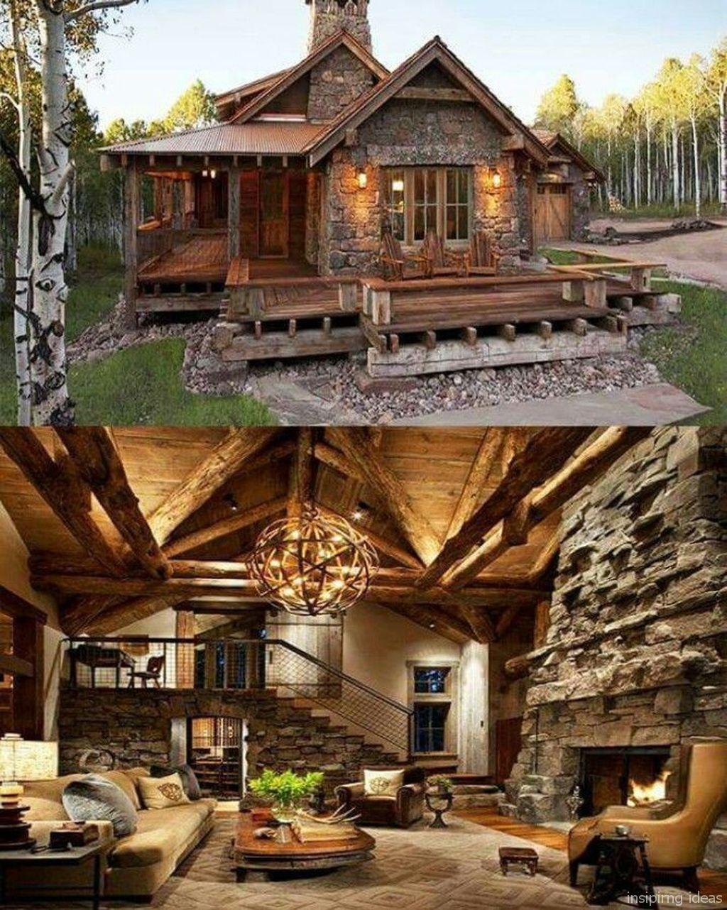 Design Of Rustic Log Cabins