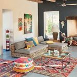Fascinating and chic retro living room