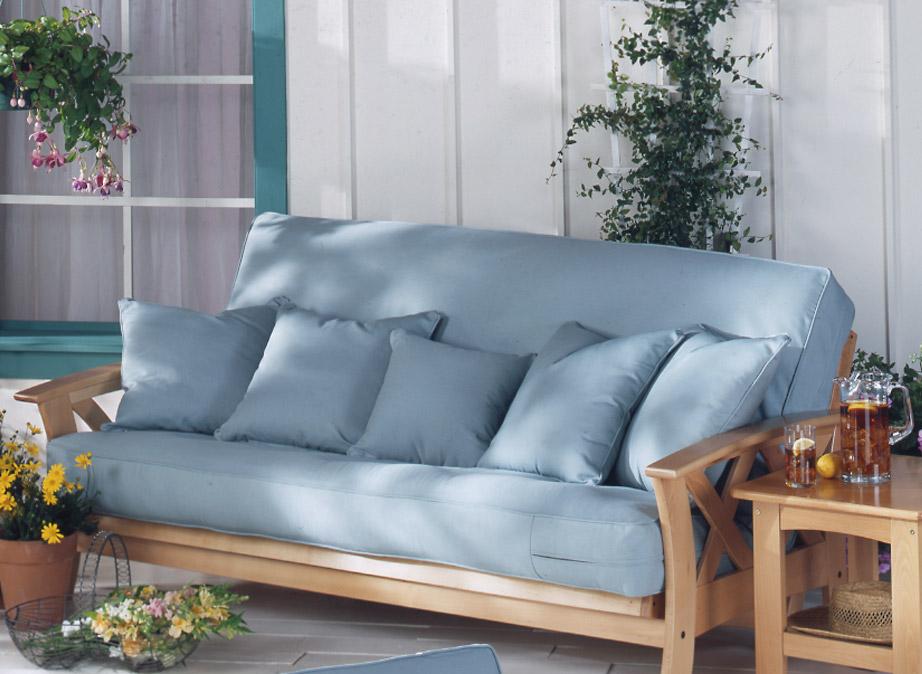 Futon covers: for protection, coziness and unique interior design
