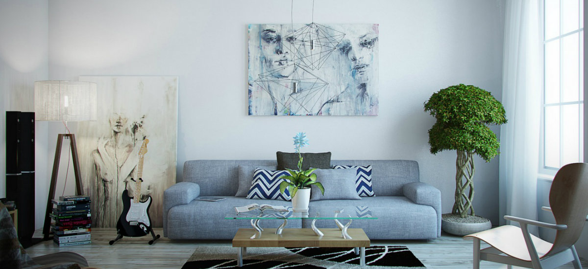 Living room art tips and ideas