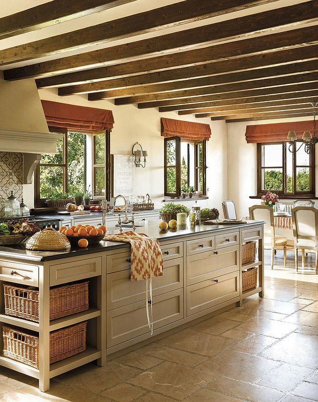 Lovely French country kitchen design