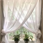 Materials used for rustic window treatments