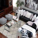 Pouf ottoman usage at home