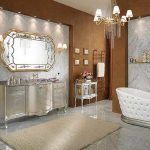 Rich and Royal Restroom Decorating