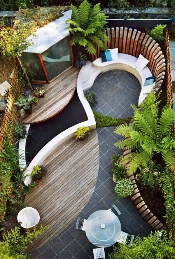 Small patio ideas to create cozy fantastic place