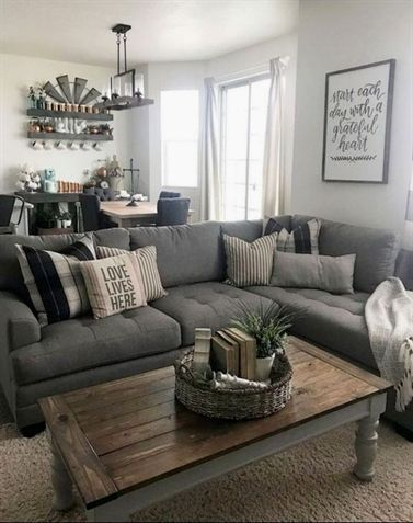 43 Outstanding Sectional Sofa Decoration Ideas with Lamps