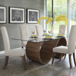 Solid Wood Dining Table Adds Elegance And Chic To The Room