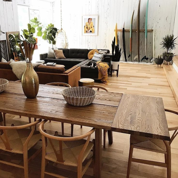 Extendable Dining Table for 12, Solid Wood | Article Madera Modern Furniture