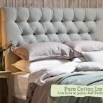 Stylish fabric headboard with your own hands