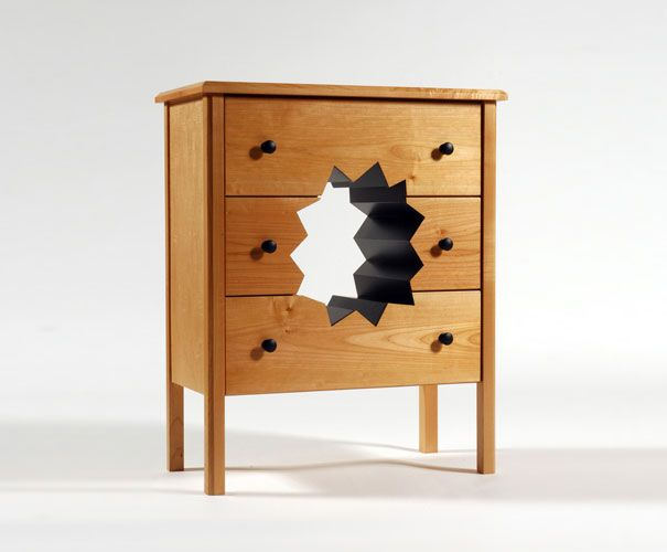 Unusual Furniture By Straight Line Designs