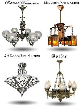 Vintage or antique lighting fixtures?