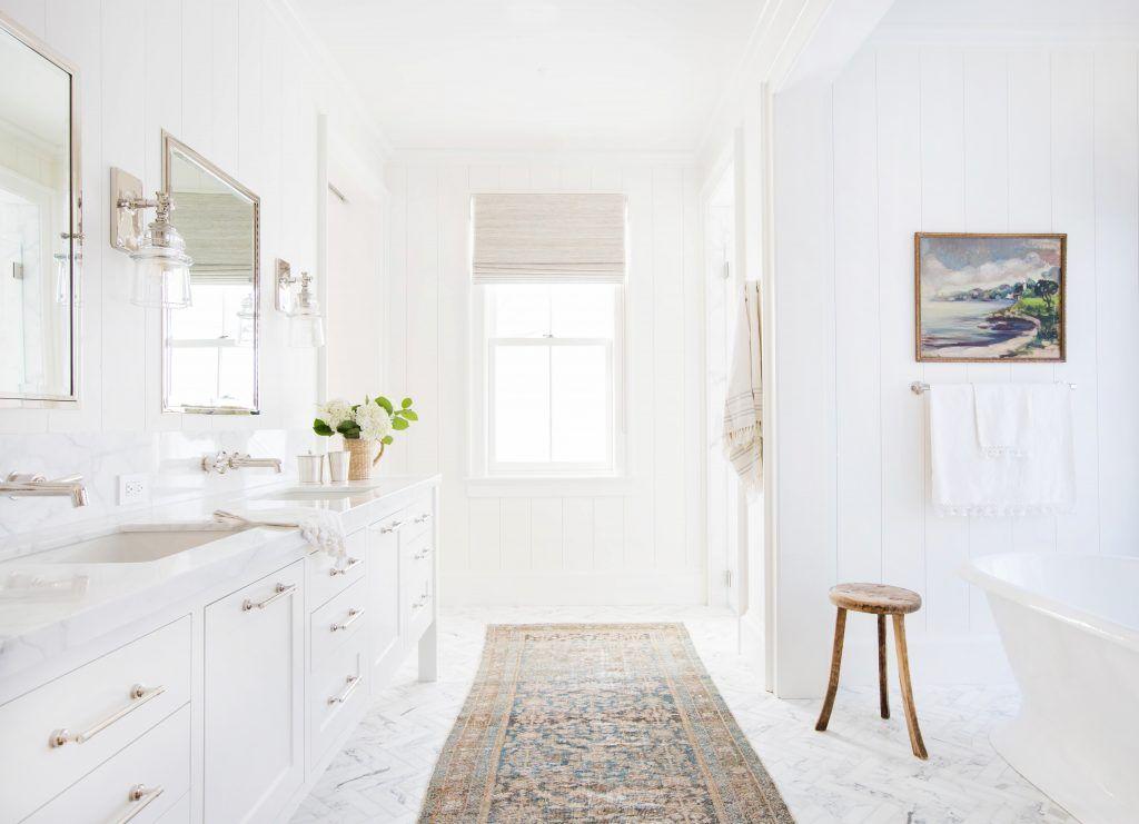 White Bathroom Decoration Ideas