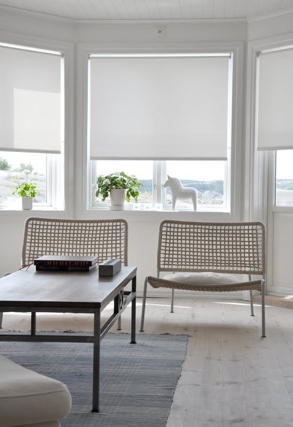 Remodeling 101: Simple Roller Shades