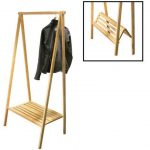 Wooden Clothes Rack And Different Types Of Wood Used To Make It