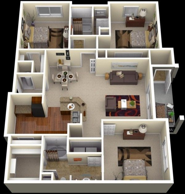Your future 3 bedroom house for rent